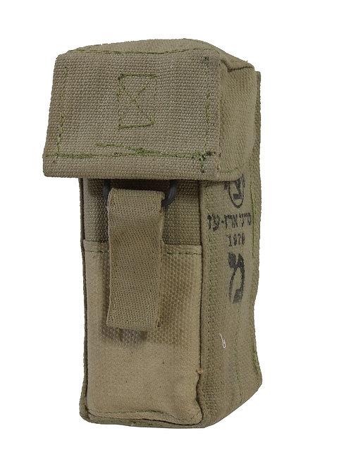 イスラエル軍 M16用 コットン ダブルマガジンポーチ