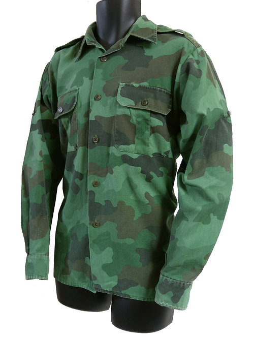 ユーゴスラビア軍 フィールドシャツ 明緑 【ワッペン無】