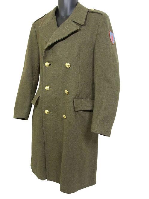 イタリア軍 工兵士官用 ウールコート カーキ A ※ワッペン付き