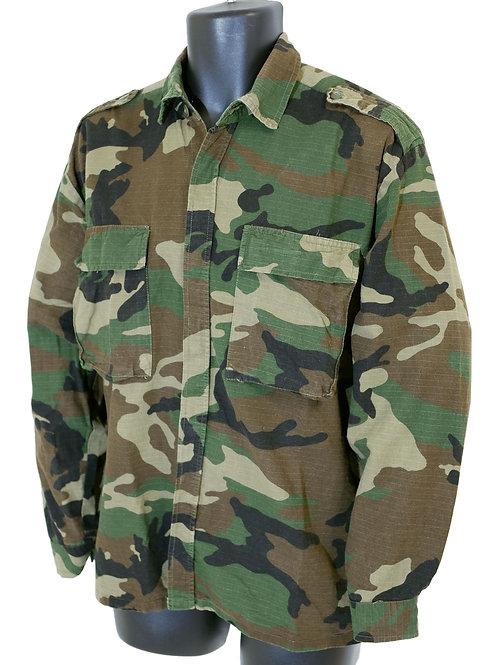 クロアチア軍 リップストップ BDUシャツ WD