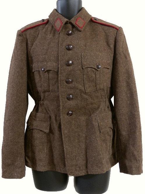 ブルガリア軍 ウールジャケット ブラウン