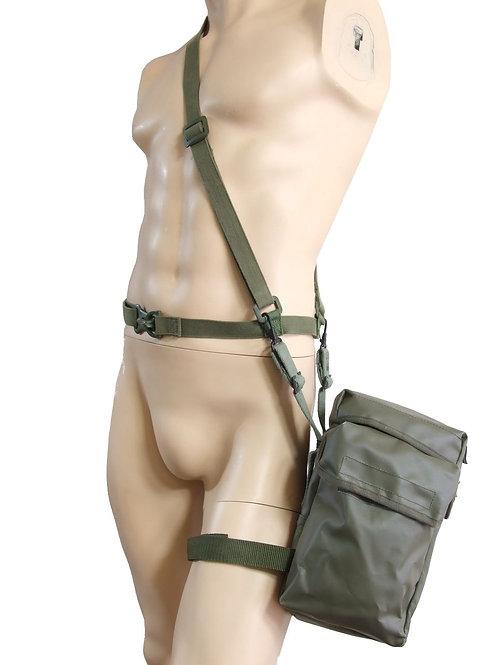 フランス軍 PVC F1 ガスマスクバッグ OD
