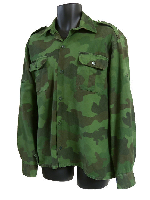 ユーゴスラビア軍 フィールドシャツ 濃緑 【ワッペン無】