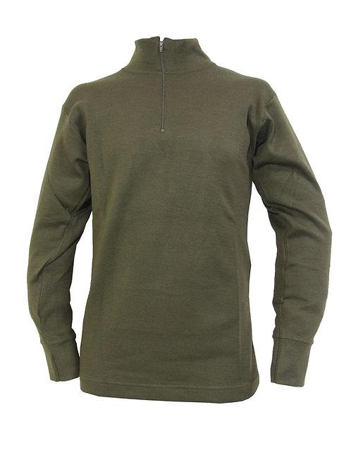 イタリア軍 ハイネックシャツ OG 【新品】
