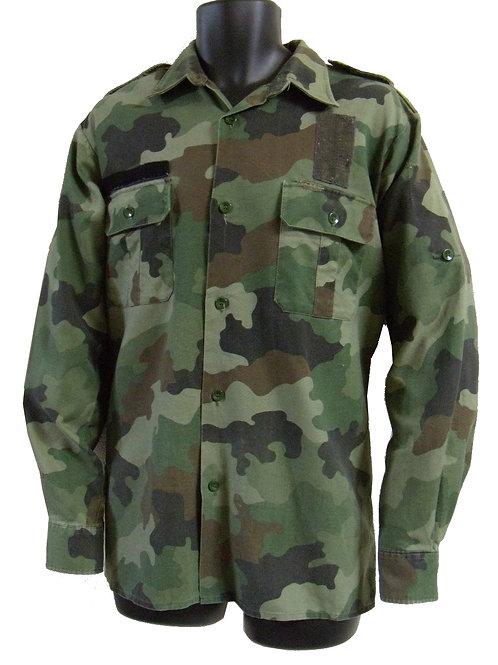 ユーゴスラビア軍 フィールドシャツ WD 黄緑 【ワッペン無】