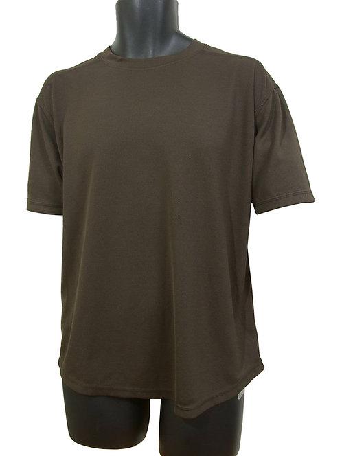 イギリス軍 帯電防止 Tシャツ ブラウン