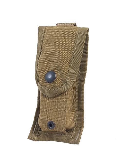 アメリカ軍 USMC 9mm シングル マガジンポーチ コヨーテブラウン 【新品】