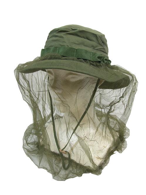 アメリカ軍 ジャングルハット OG107 ネット付き 【新品】