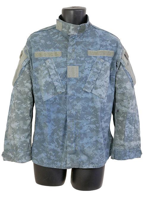 アメリカ軍 看守ジャケット 青染めACU ※背面字無し
