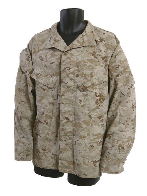 アメリカ軍 USMC BDUジャケット デザートマーパット