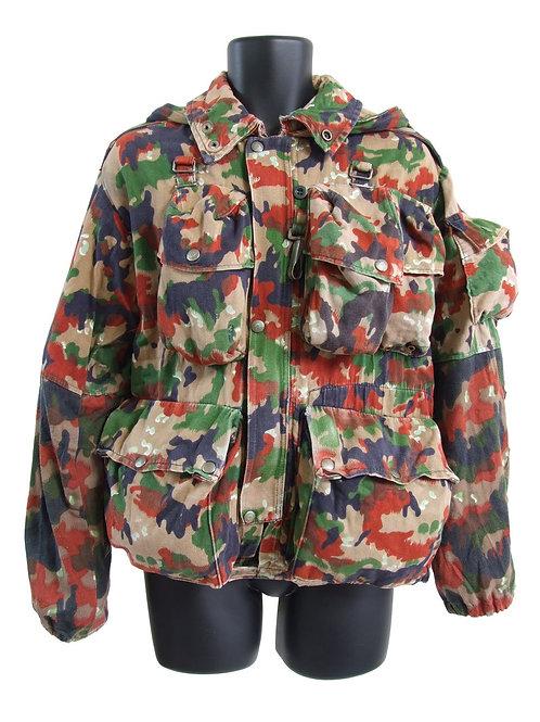 スイス軍 M70 マウンテンジャケット バックパック付 アルペンカモ