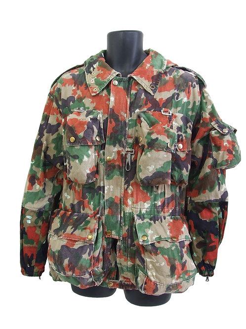 スイス軍 M57 マウンテンジャケット バックパック付 アルペンカモ