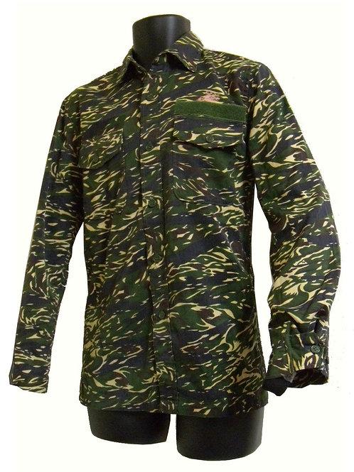 台湾軍 海兵隊 BDUシャツ タイガーストライプ