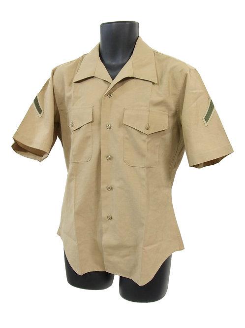 アメリカ軍 USMC ショートスリーブ ドレスシャツ