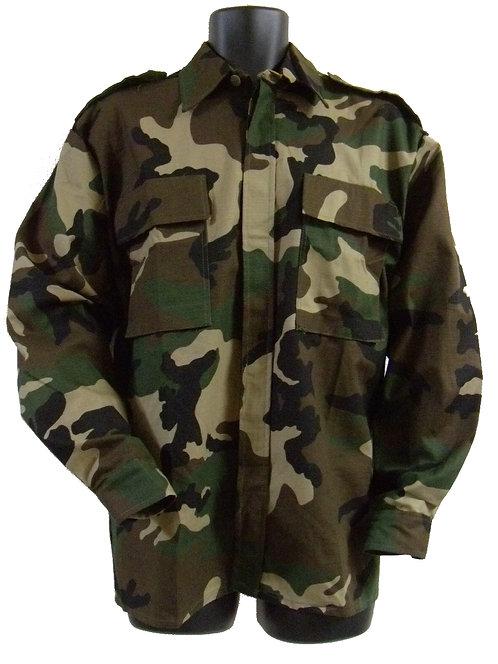 クロアチア軍 リップストップ BDUシャツ WD 【新品】