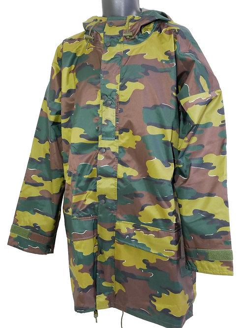 ベルギー軍 ゴアテックス レインジャケット ジグソーカモ 【新品】