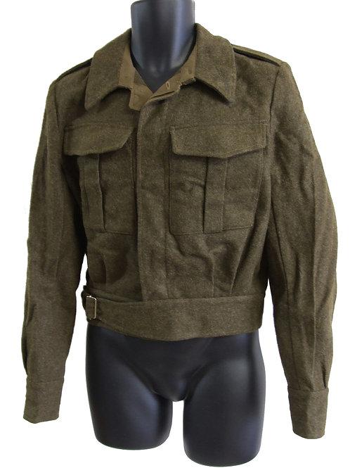 オランダ軍 ウール フィールドジャケット カーキグリーン