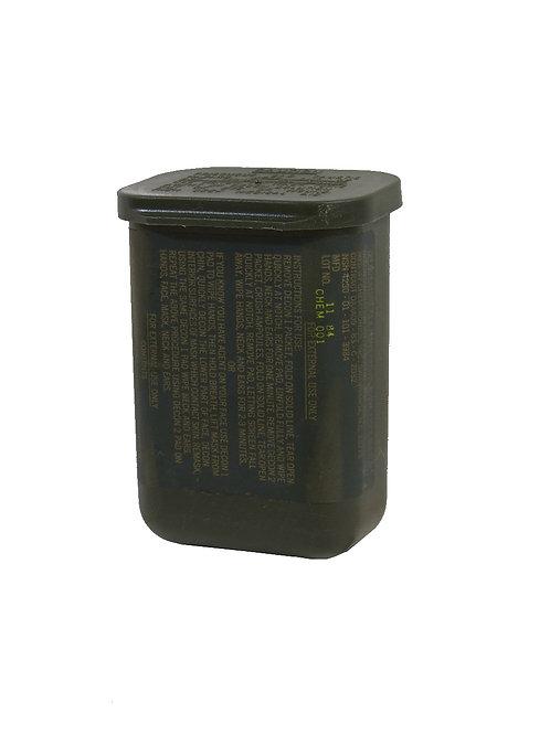 アメリカ軍 除染キット プラスチックケース M258A1