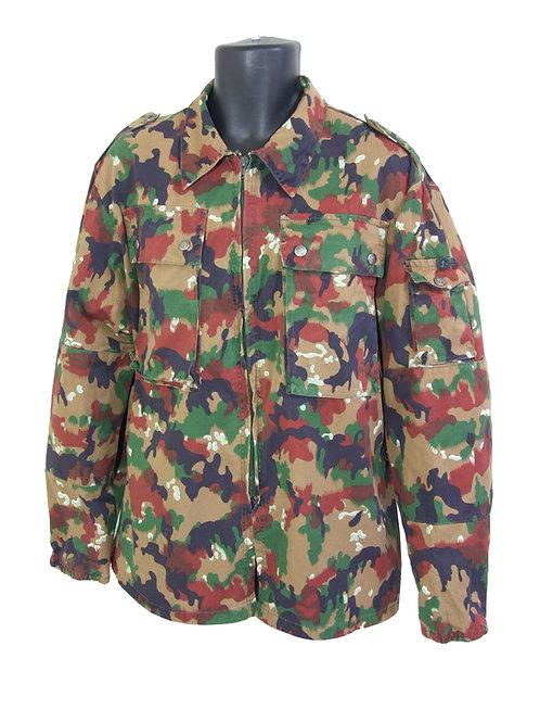スイス軍 M83 フィールドジャケット アルペンカモ
