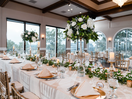 Gold and Greenery Wedding at Brittany Hill