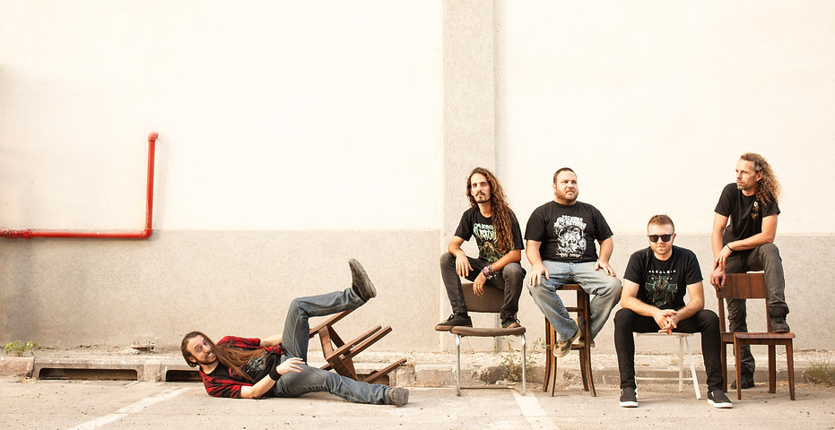 Prey For Nothing - Israeli Progressie Death Metal Band photographed by Delia Gyger