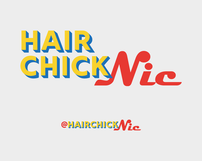 New logo and social media version for a Hair stylist