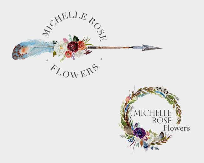 New logo for a florist