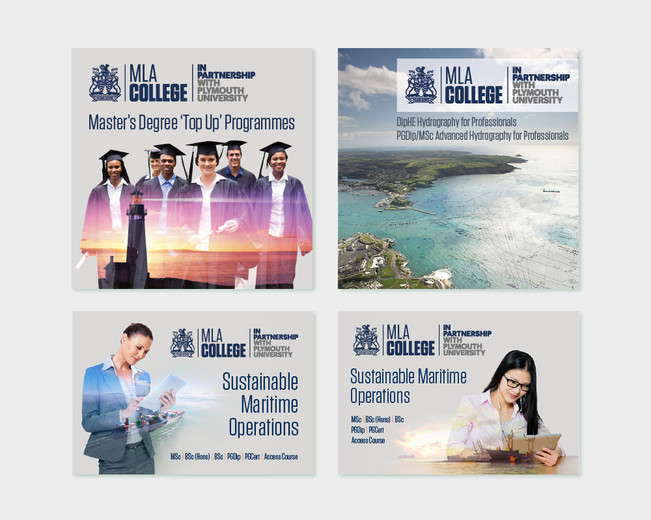 MLA College Brochure and Adverts