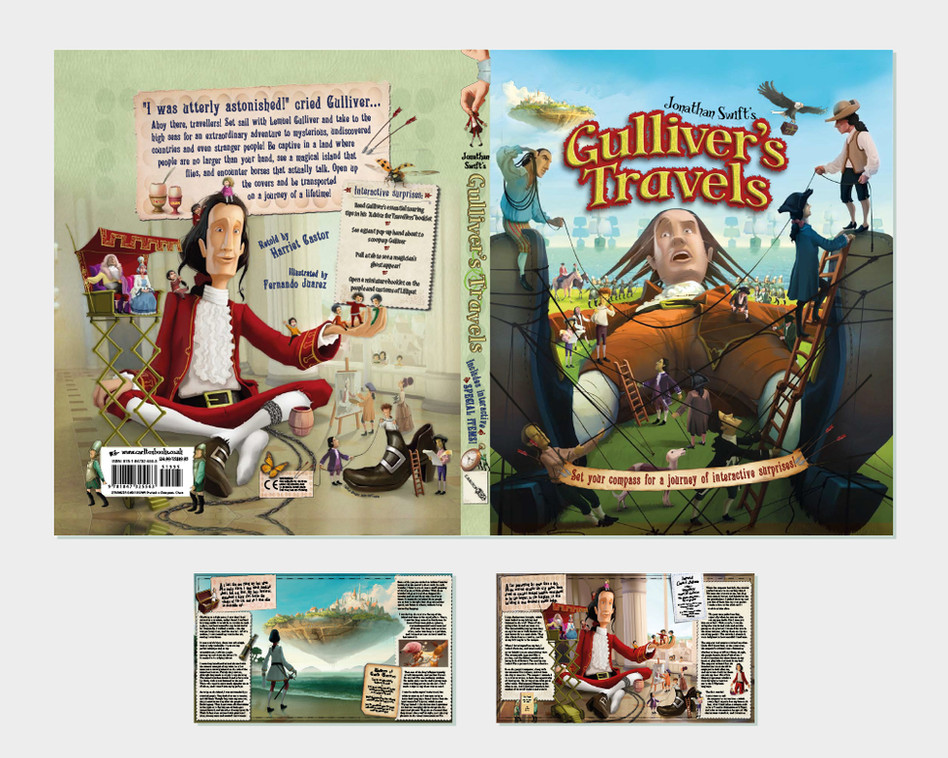 Gulliver's Travels Pop Up Book