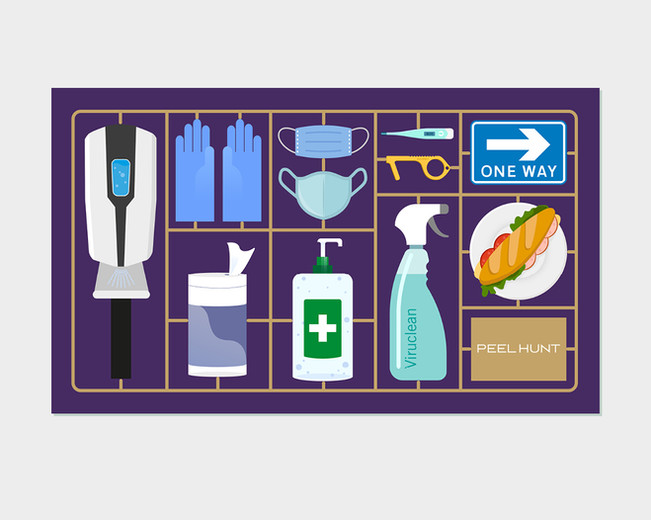 PPE kit illustration