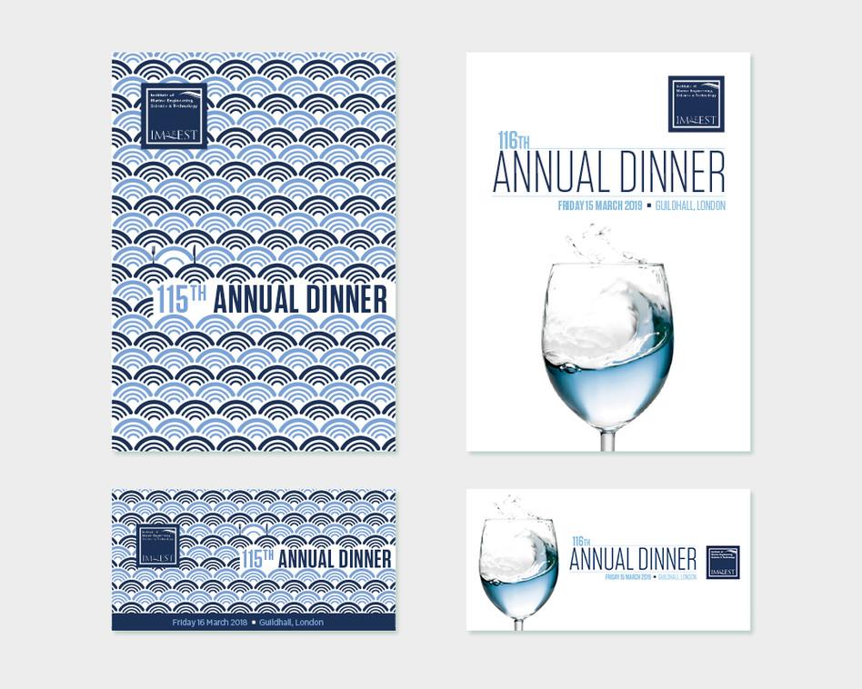 Annual Dinner artwork