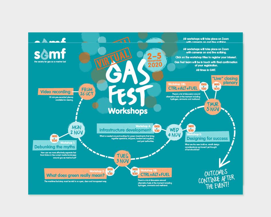 SGMF event artwork