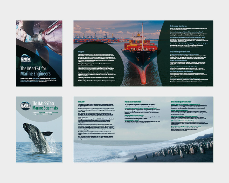 IMarEST Brochures