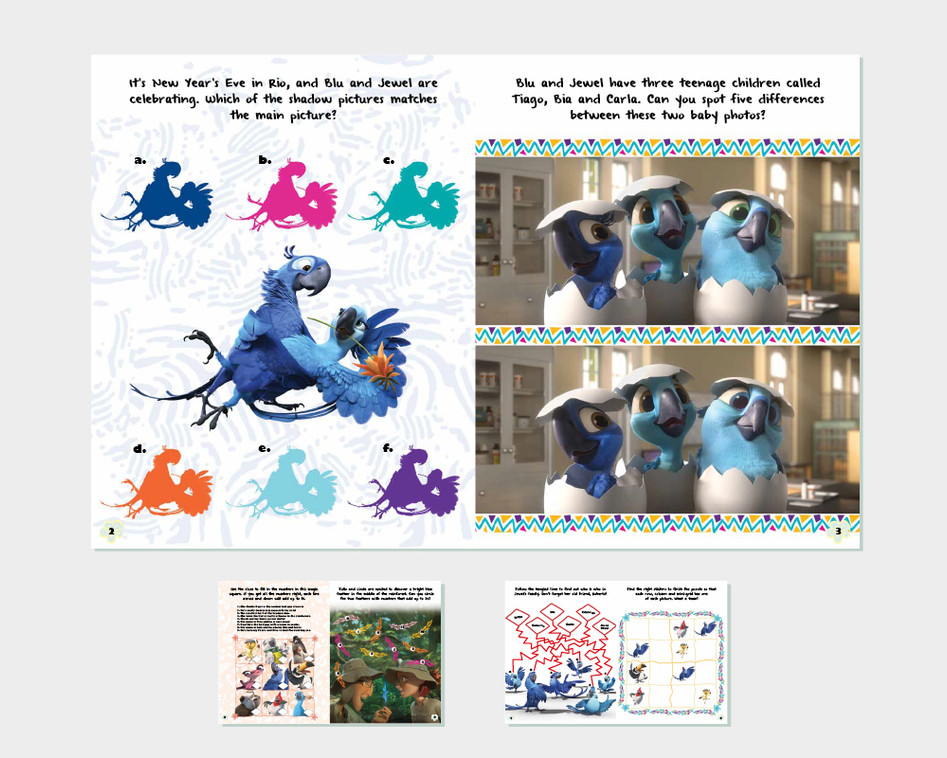 'Rio 2' Movie Activity Book