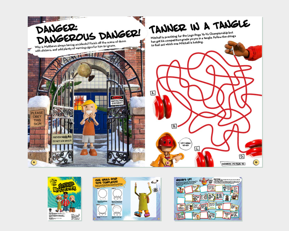 'Strange Hill High' Activity Book