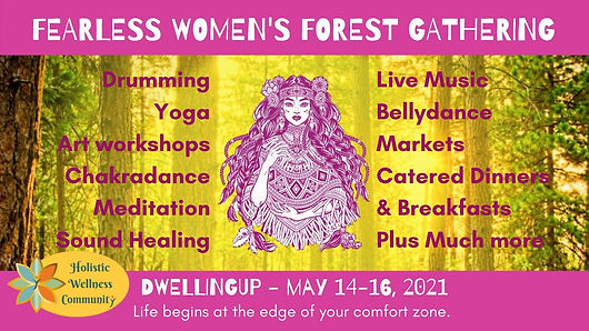 Fearless Women's Forest Gatherig May 202