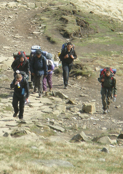 DofE Gold Expedition - The Dark Peak District - Here they Come