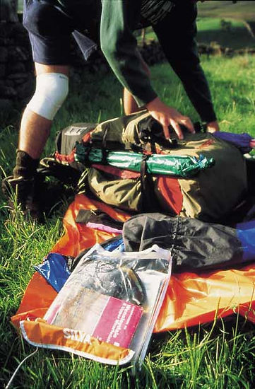 DofE Bronze Expedition - The Chiltern Hills - Packing the Rucksack