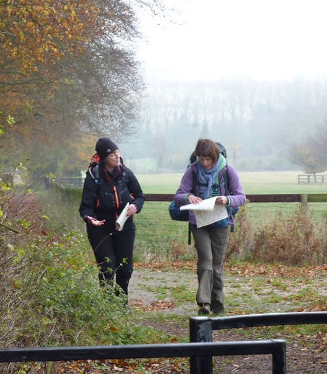 CLA Training Course - The Chiltern Hills - Following the Route