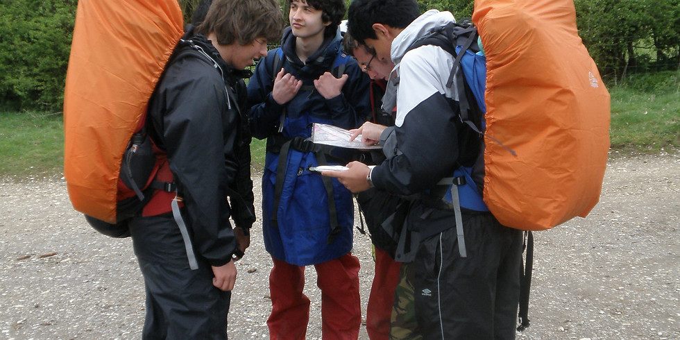 DofE Open Bronze Qualifying Expedition 1