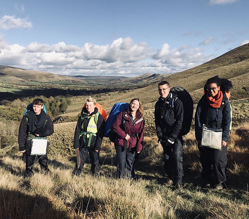 DofE Gold Expedition - The Brecon Beacons - At the Top of the Valley