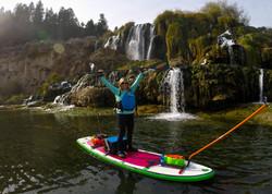 SUP Fishing, Snake River