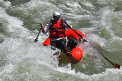 Lunch Counter Rapid  8,730 CFS  Courtesy of Curt Landes