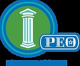 Foundation and P.E.O. Logo PNG - RGB Col