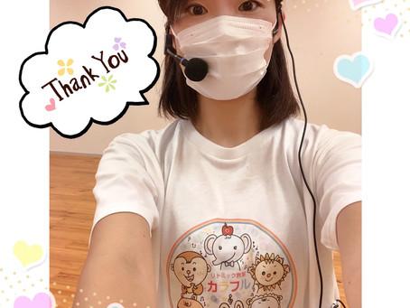 久しぶりの再会に感謝!そしてご入会ありがとうございます!リトミック教室カラフル北千住教室♪