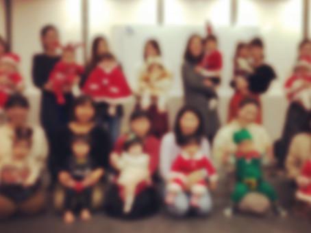 クリスマスリトミック体験のお申し込み受け付け開始♪北千住亀有0歳からの習い事