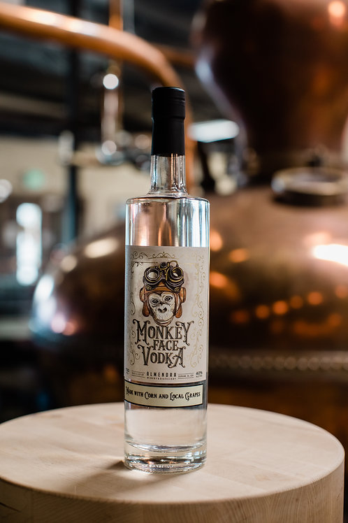 Monkey Face Grape Based Vodka (Local Pick-up ONLY)