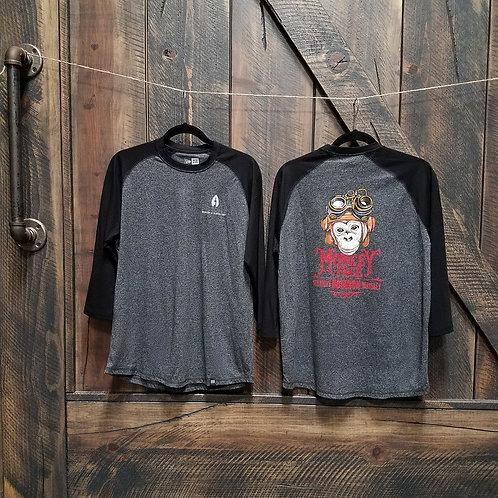 Men's Monkey Face Baseball T-Shirt
