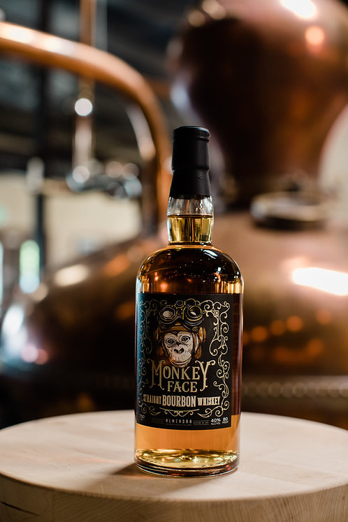 Monkey Face Straight Bourbon Whiskey (Local Pick-up ONLY)