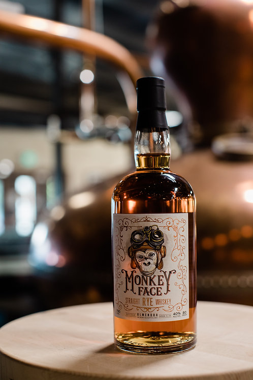 Monkey Face Straight Rye Whiskey